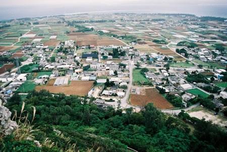 城山からのパノラマ