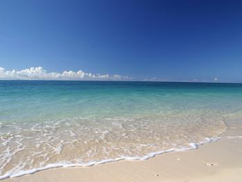 伊江島 真夏のGIビーチ