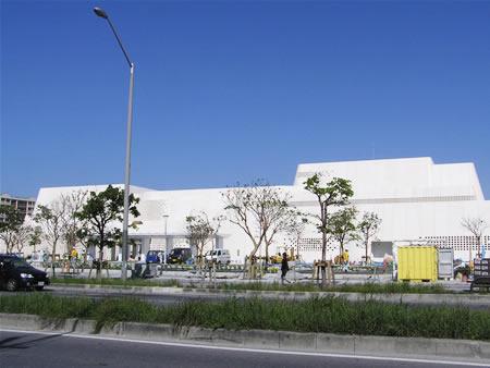 沖縄県立博物館 建設中です