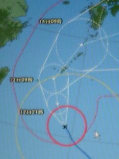 台風4号 7/12 午前9時の情報