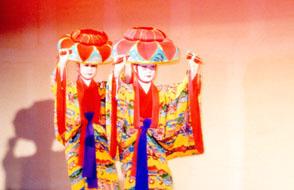 琉球舞踊館うどい公演の様子