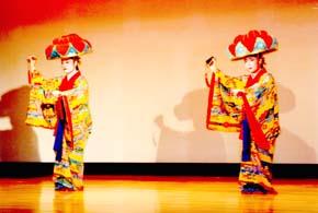 公演風景「演目:四ッ竹」です