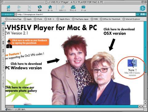 flv再生ソフトをダウンロード