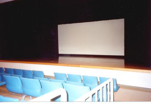 館内風景(客席208席)